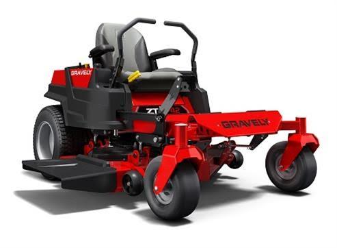 Gravely-mower